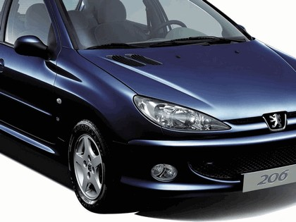 2006 Peugeot Dongfeng 206 1.6 5-door chinese version 41
