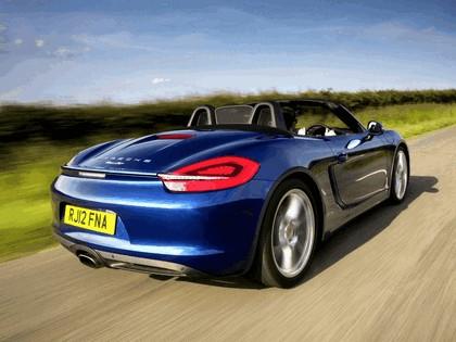 2012 Porsche Boxster ( 981 ) - UK version 9