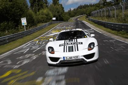 2012 Porsche 918 Spyder prototype - Nuerburgring-Nordschleife test 2