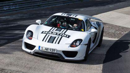 2012 Porsche 918 Spyder prototype - Nuerburgring-Nordschleife test 8