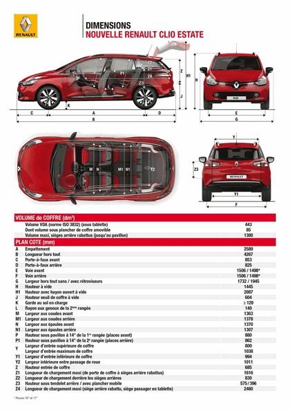 2012 Renault Clio Estate 42