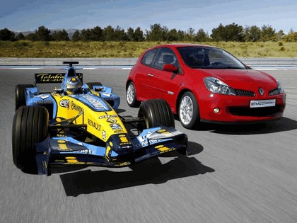 2006 Renault Clio Renault Sport and F1 2