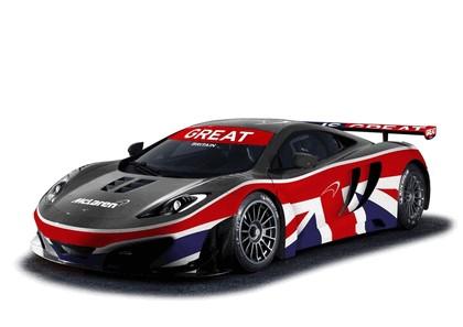 2012 McLaren MP4-12C GT3 - Union Jack livery 2