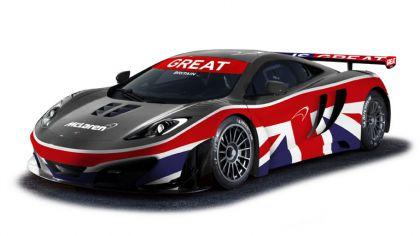 2012 McLaren MP4-12C GT3 - Union Jack livery 1