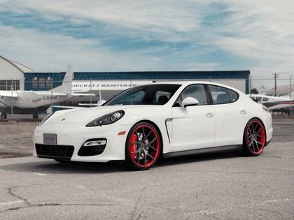 2012 Porsche Panamera GTS Crimson Crusader PUR Wheels by SR Auto Group 2