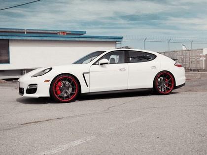 2012 Porsche Panamera GTS Crimson Crusader PUR Wheels by SR Auto Group 3