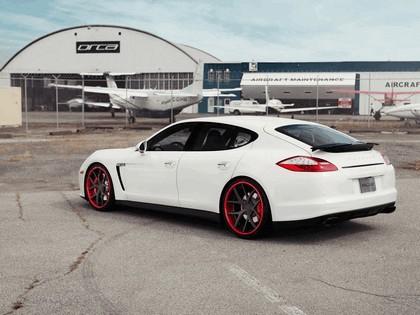 2012 Porsche Panamera GTS Crimson Crusader PUR Wheels by SR Auto Group 4