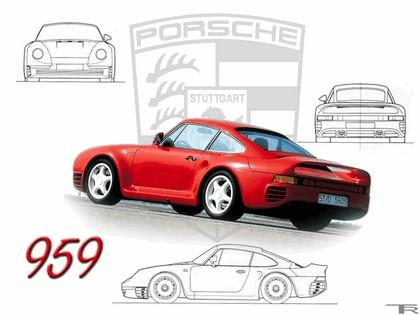 1986 Porsche 959 35