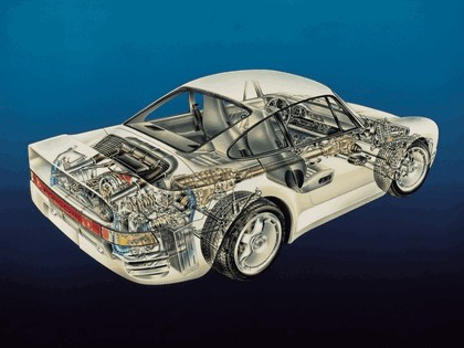 1986 Porsche 959 36
