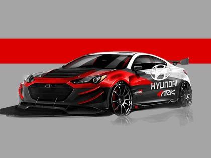 2012 Hyundai Genesis coupé by Ark Performance - sketches 1