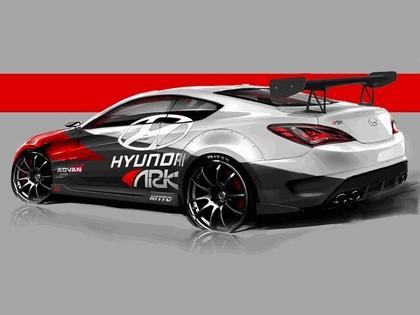 2012 Hyundai Genesis coupé by Ark Performance - sketches 2