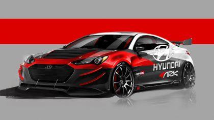 2012 Hyundai Genesis coupé by Ark Performance - sketches 3