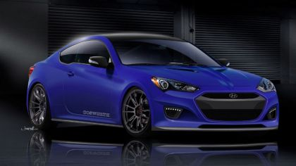 2012 Hyundai Genesis coupé by Cosworth - sketches 8