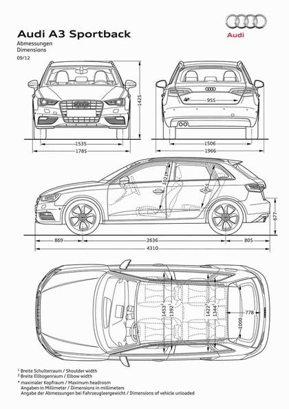 2013 Audi A3 Sportback 2.0 TDI S-Line 14