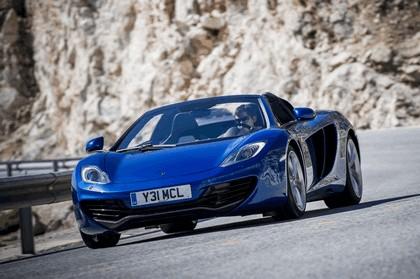 2012 McLaren 12C spider 12