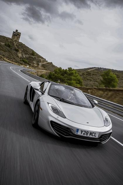 2012 McLaren 12C spider 100