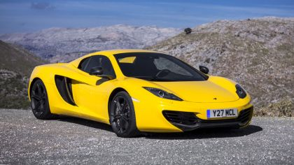 2012 McLaren 12C spider 5