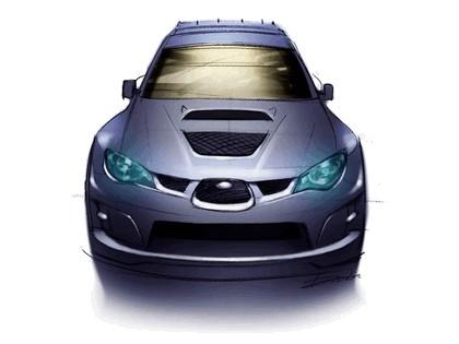 2006 Subaru Impreza WR-Car sketch 1