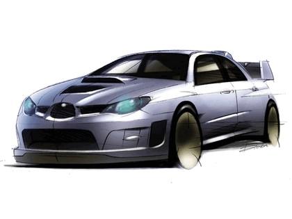 2006 Subaru Impreza WR-Car sketch 2