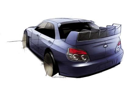 2006 Subaru Impreza WR-Car sketch 3
