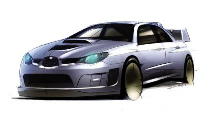 2006 Subaru Impreza WR-Car sketch 7