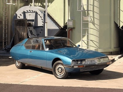 1971 Citroën SM Espace concept by Heuliez 5