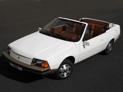 1982 Renault Fuego Cabriolet concept by Heuliez 1