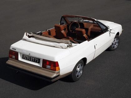1982 Renault Fuego Cabriolet concept by Heuliez 2