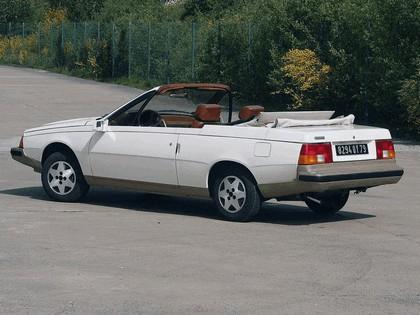 1982 Renault Fuego Cabriolet concept by Heuliez 3