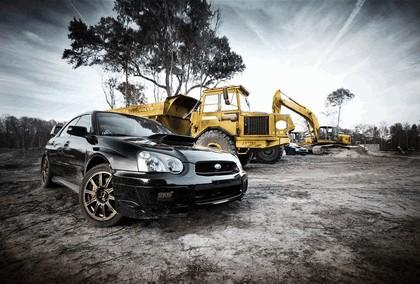 2006 Subaru Impreza WRX STi photography by Webb Bland 6