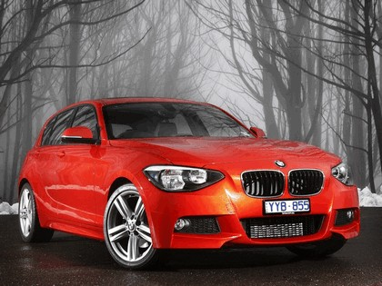 2012 BMW 125i ( F20 ) 5-door M Sports Package - Australian version 1