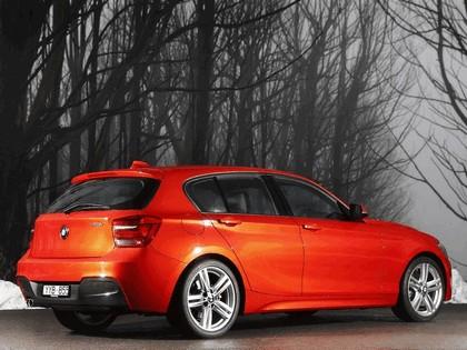 2012 BMW 125i ( F20 ) 5-door M Sports Package - Australian version 3