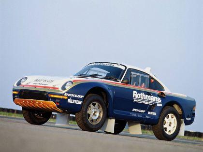 1986 Porsche 959 Paris-Dakar 12