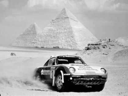 1986 Porsche 959 Paris-Dakar 14