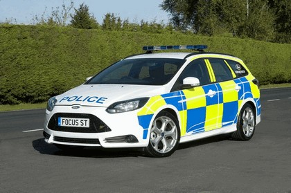 2012 Ford Focus ST wagon - UK Police car 1