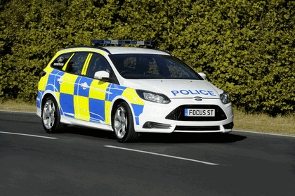 2012 Ford Focus ST wagon - UK Police car 2