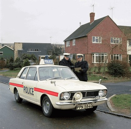 1969 Ford Cortina mkII by Lotus - Police car 1