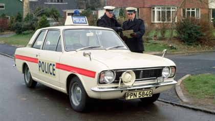 1969 Ford Cortina mkII by Lotus - Police car 9