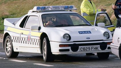 1987 Ford RS200 - Police car 8