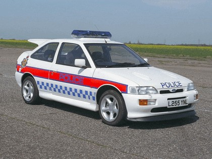 1992 Ford Escort Cosworth - Police car 1