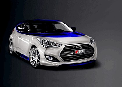 2012 Hyundai Veloster Alpine concept by ARK 1