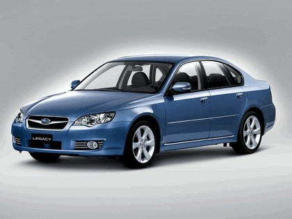 2006 Subaru Legacy 3.0R european version 2