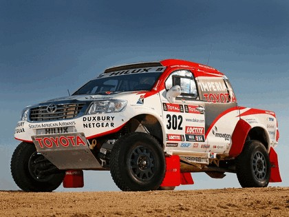 2012 Toyota Hilux rally car 1
