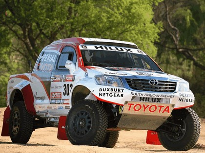 2012 Toyota Hilux rally car 2