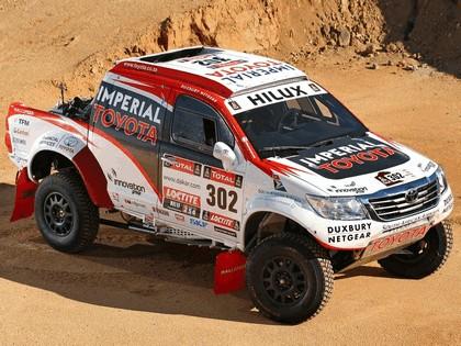 2012 Toyota Hilux rally car 5