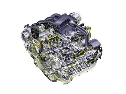 2006 Subaru Legacy 3.0R Spec-B european version 17