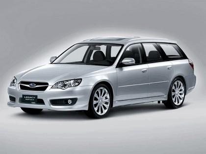 2006 Subaru Legacy Station Wagon 3.0R Spec-B european version 2