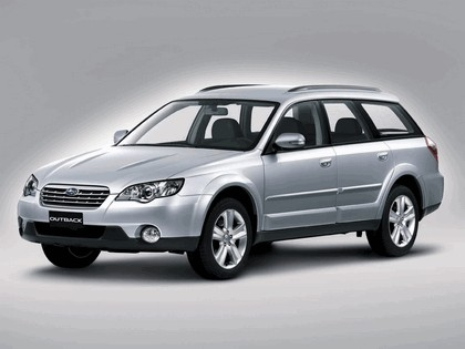2006 Subaru Outback 2.5i european version 5