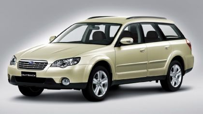 2006 Subaru Outback 2.5i european version 7