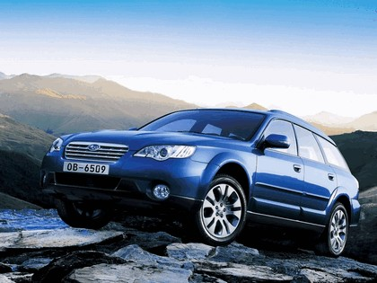 2006 Subaru Outback 3.0R european version 2